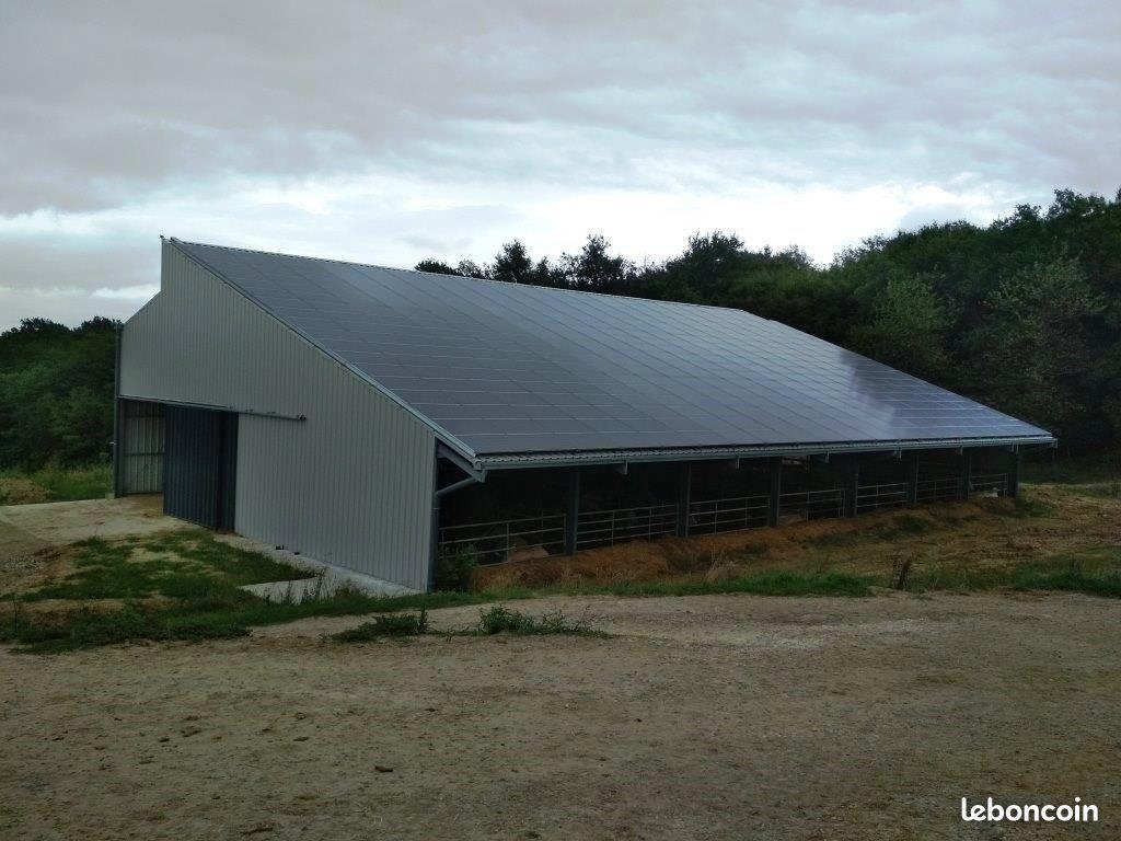 Votre hangar agricole financé par le soleil