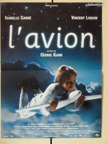 Affiche de cinéma : L'AVION