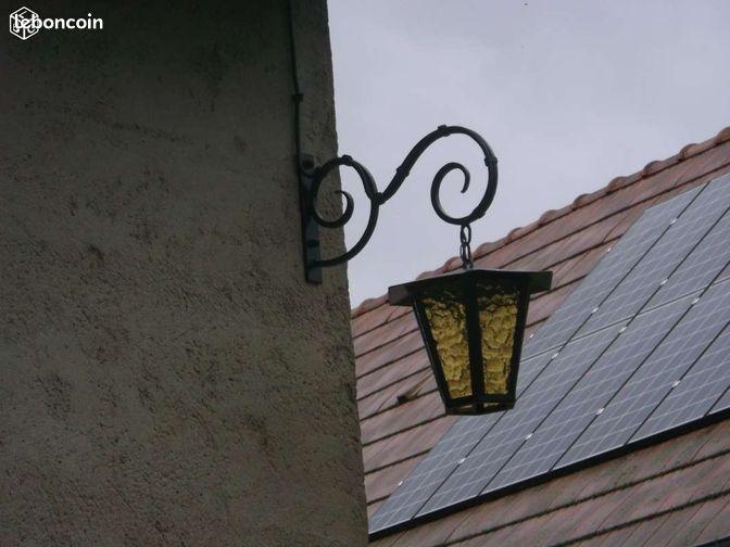 Lampe ext rieure ancienne d coration sarthe for Lampe exterieur ancienne