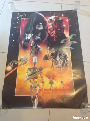 """Affiche """" star wars """""""