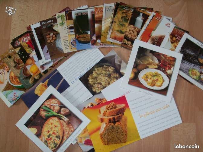 Echange cartes postales recettes de cuisine collection pas for Leboncoin cuisine