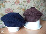 Casquette et béret en laine