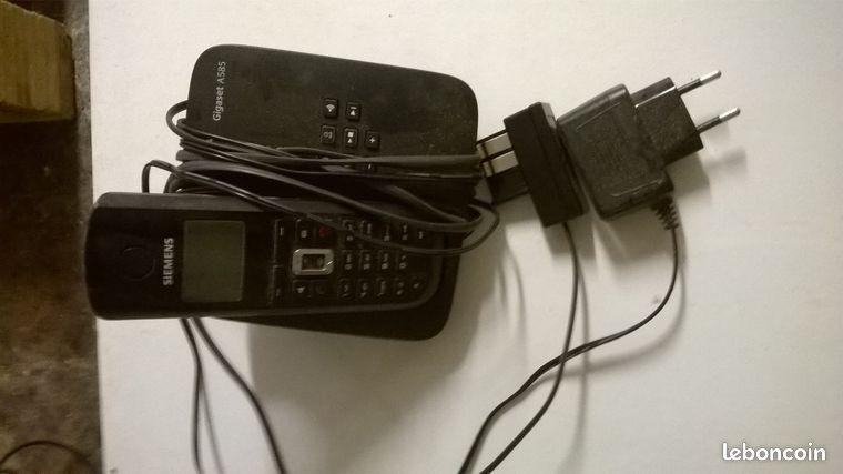 Telephone siemens gigaset annonces d 39 achats et de ventes - Telephone mondial relay ...