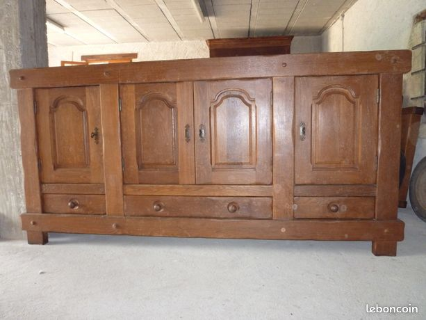 Buffet/Enfilade – Style Normand Chene Massif