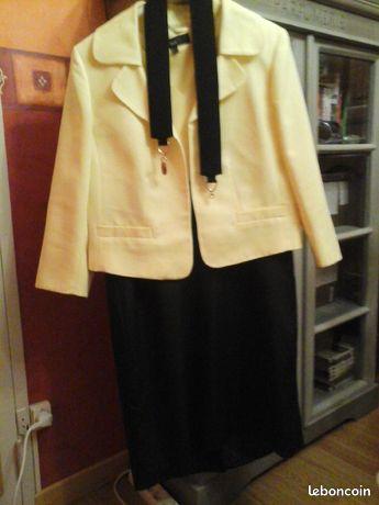 Ensemble robe   veste t 42 neuf tres chic 100 £
