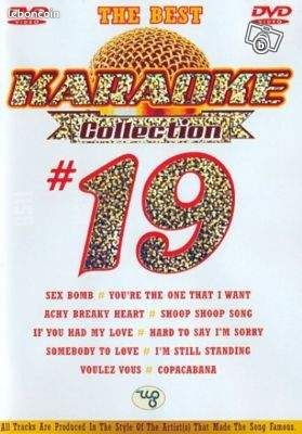 Karaoke collection N° 19 dvd THE BEST 25 chansons - Epernay - Karaoke collection N° 19 dvd THE BEST 25 chansons - Epernay