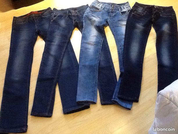 ac0a3f3f2b07 Jeans et pantalons femme - t34 t36 t38