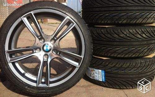 pack jantes pneus neufs pour bmw look m6 equipement auto paris. Black Bedroom Furniture Sets. Home Design Ideas