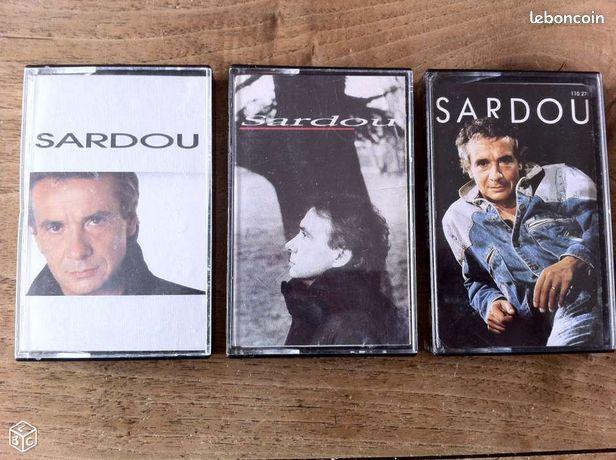 Lot de 3 cassettes Michel SARDOU - Marseille - Lot de 3 cassettes originales Michel Sardou : - Le Successeur (1988) - Le Privilège (1990) - Le Bac G (1992) Bon état. D'autres objets en tapant jored4 dans la barre de recherche  - Marseille