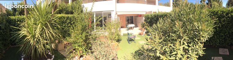 Beau T3 meublé avec jardin à louer