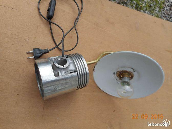 Lampe de chevet unique d coration haute vienne for Lampe de chevet haute