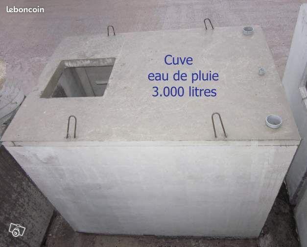 cuve pour recuperation eau de pluie annonces d 39 achats et. Black Bedroom Furniture Sets. Home Design Ideas