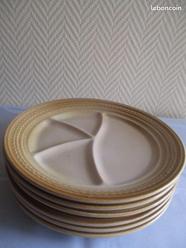 Assiettes à fondue