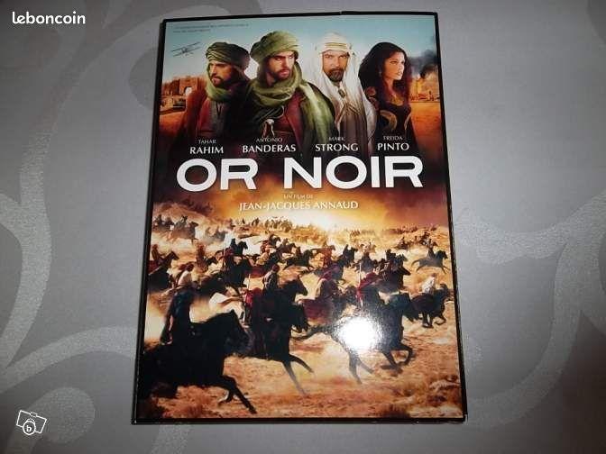 Dvd or noir - Longueil-Sainte-Marie - DVD Or Noir film de Jean Jacques Annaud (Double DVD) Avec Antonio Banderas etc Fresque grandiose, grand spectacle  - Longueil-Sainte-Marie