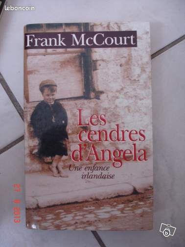 """Franck McCourt - Coudekerque-Branche - a vendre le livre de Franck McCourt """" les cendres d'Angela"""" possibilité d'envoi je suis joignable après 18h  - Coudekerque-Branche"""