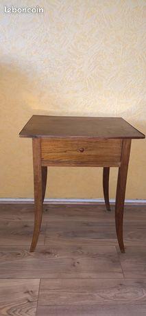 Table d'appoint guéridon antiquités bois