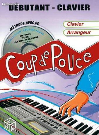 Coup de pouce-nouvelle scene-bertignac port inclus - Albi - COUP DE POUCE AVEC CD pour CLAVIER ARRANGEUR de DENIS ROUX= 15 € NOUVELLE SCENE.fr VOL 4 = 15 € piano chant guitare tablatures 2008 sans CD TITRES : Renan Luce, La lettre Yaël Naïm, New soul The do, On my shoulders Da Silva, De là haut Emilie  - Albi