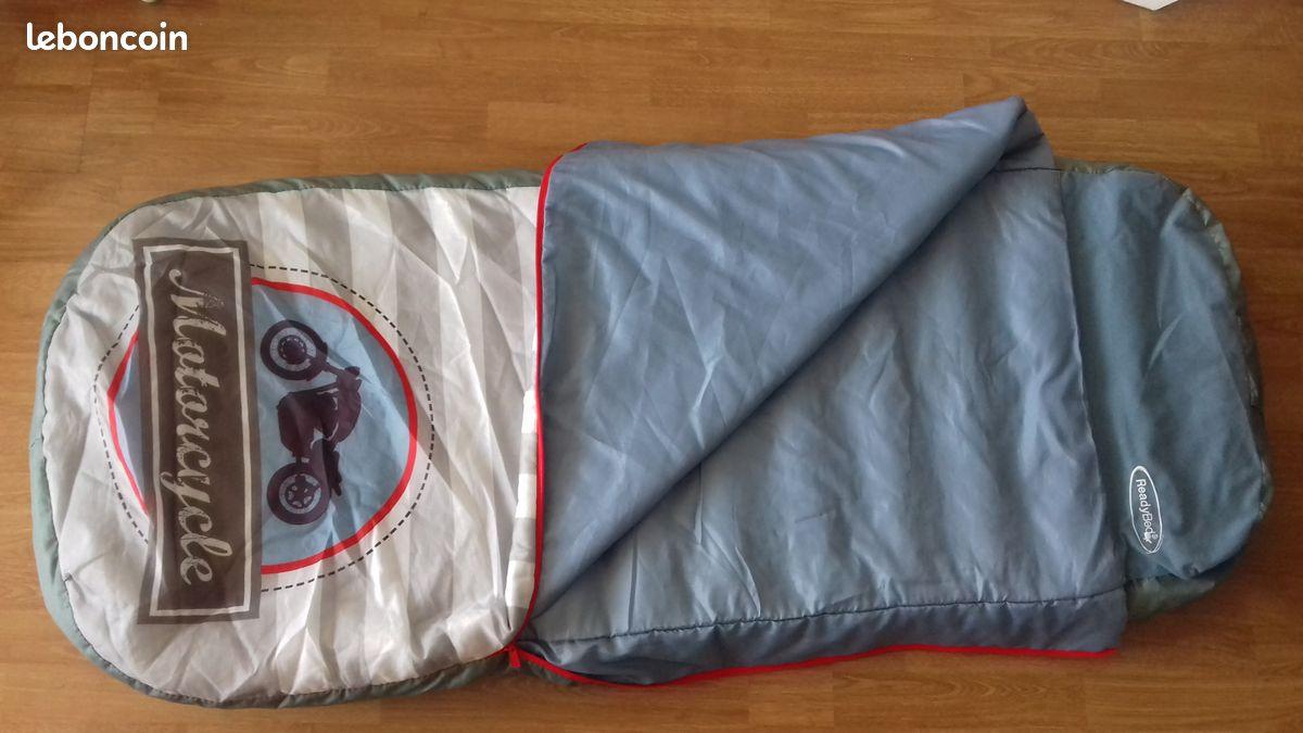 sac de couchage readybed® avec matelas integre