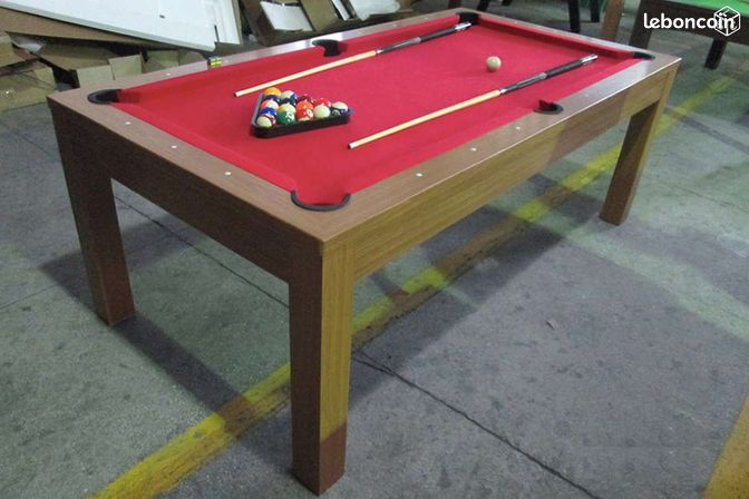 Billard convertible table manger ch ne neuf 60 sports hobbies oise - Billard convertible table ...