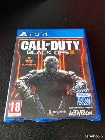 Jeu Call of Duty Black Ops 3 - PS4