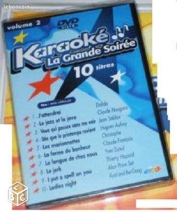 Karaoké La grande soirée volume 2 DVD J'attendrai - Epernay - Karaoké La grande soirée volume 2 DVD J'attendrai - Epernay