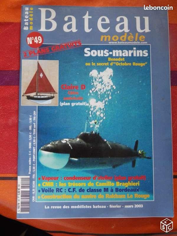 Magazine bateau modele n° 49