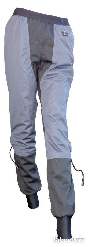 Sous-pantalon moto chauffant klane unisexe taille s