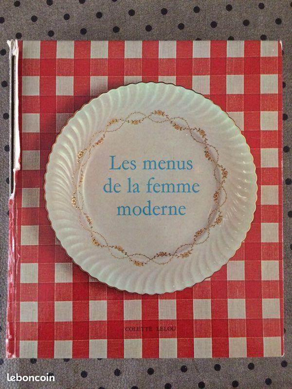 Livre cuisine vintage