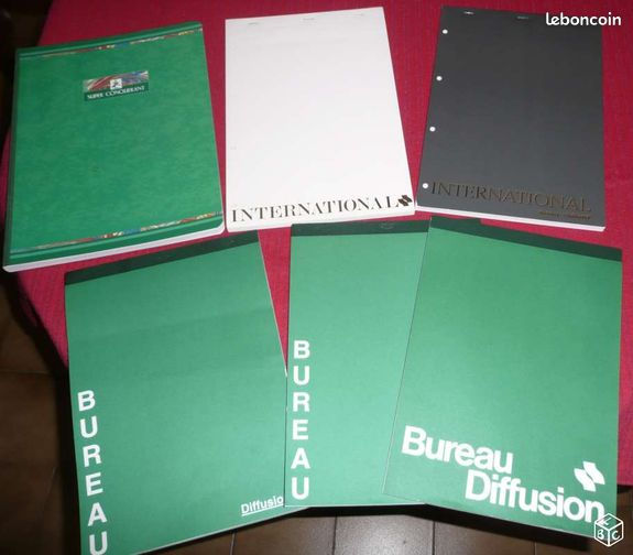Fournitures buro cahiers blocs intercalaires fournitures for Buro diffusion