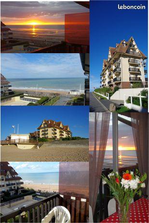 Appartement gite accès direct plage vue mer