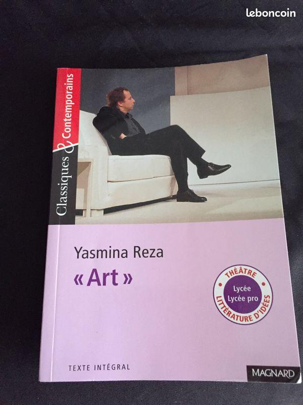 Livre «art» yasmina reza