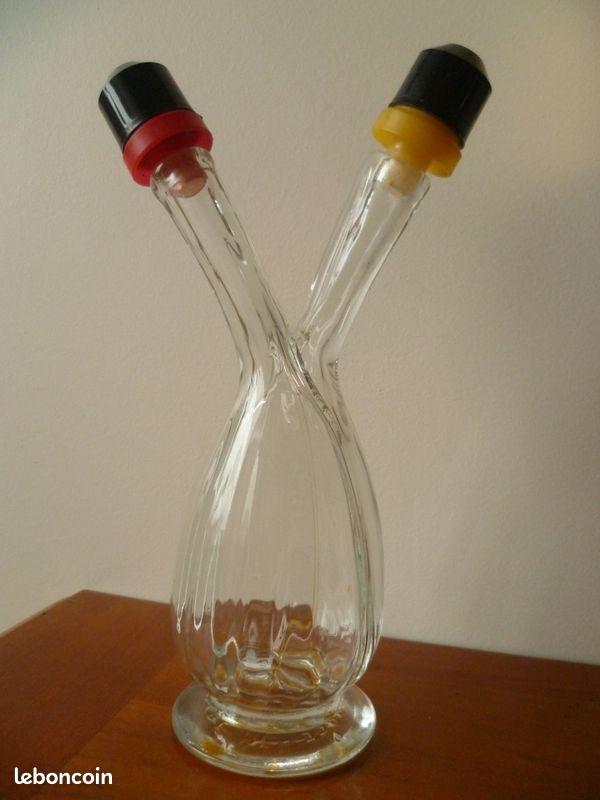 Huilier - vinaigrier - vintage - kobat