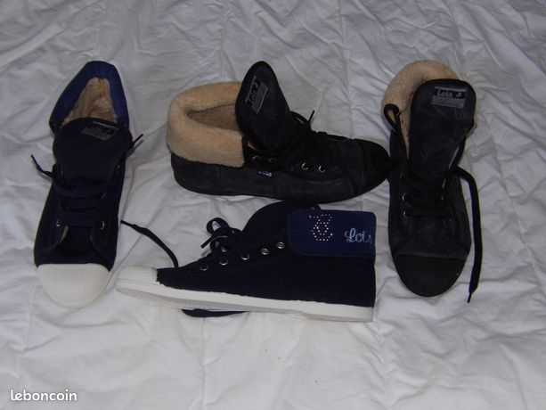 2 paires baskets