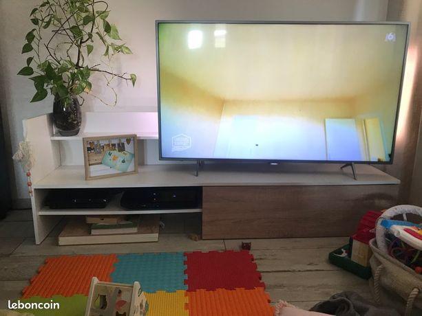 meuble tv blanc d occasion annonces