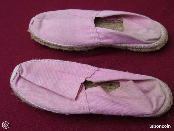 Espadrille rose chaussures haute garonne - Colissimo agence haute garonne ...