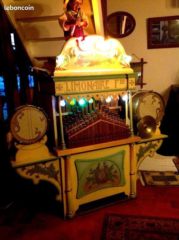 Limonaire, orgue de foire, orgue de barbarie