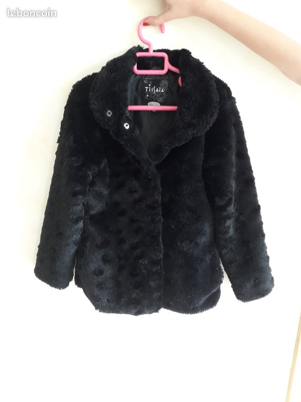 Manteau fourrure fille