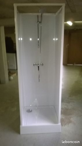 cabine de douche int grale 80 x80 bricolage corr ze. Black Bedroom Furniture Sets. Home Design Ideas
