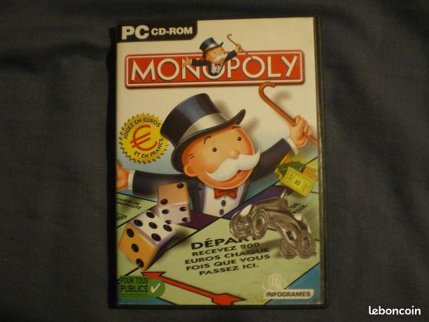 Jeu monopoly pc état neuf