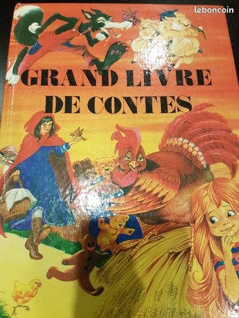 Grand livre de contes édition 1980