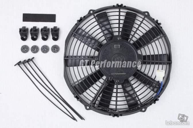 gamme de ventilateur plat universel 160w type spal equipement auto seine et marne. Black Bedroom Furniture Sets. Home Design Ideas