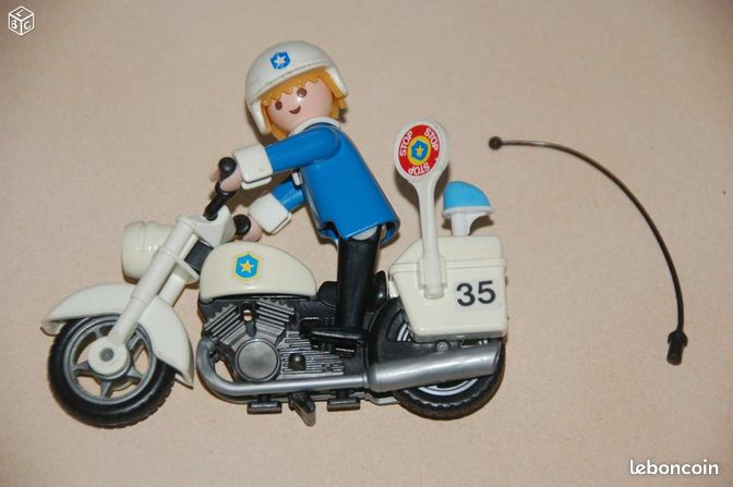 playmobil moto police us harley davidson ref 3564 jeux jouets hauts de seine. Black Bedroom Furniture Sets. Home Design Ideas