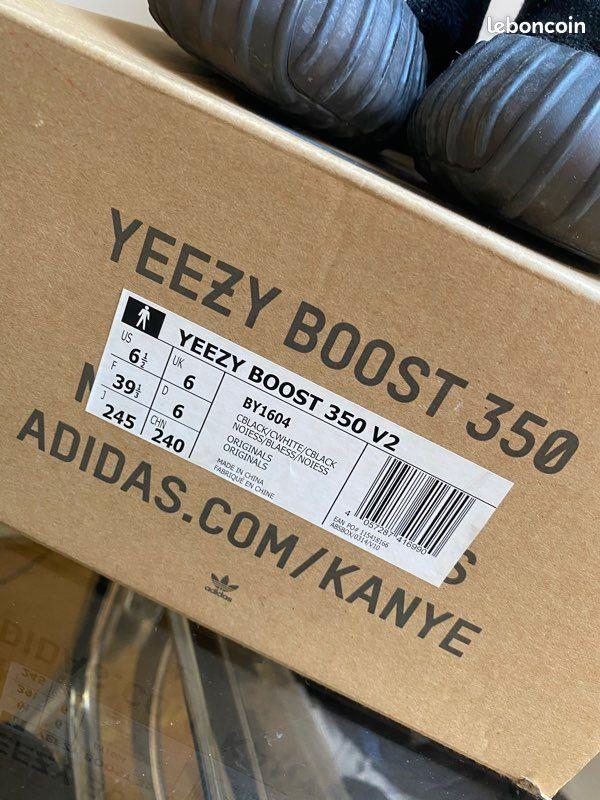 Yeezy boost 350 v2 black & white oreo