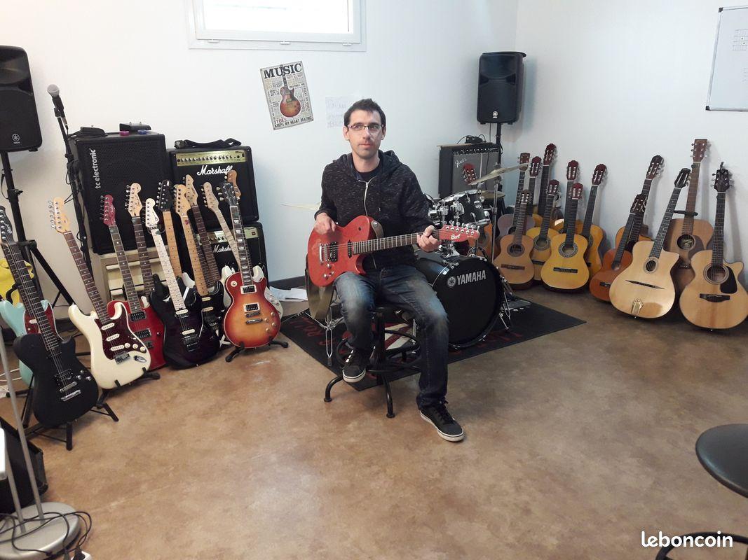 Cours de guitare et ukulélé