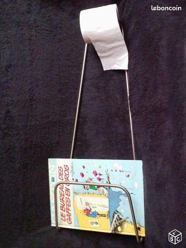 Porte revues et papier toilette ameublement paris for Porte revue toilette
