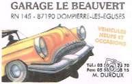 Garage Le Beauvert