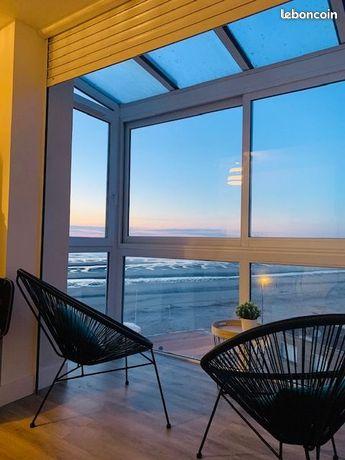 Studio 30 m2 vue sur mer bray dunes