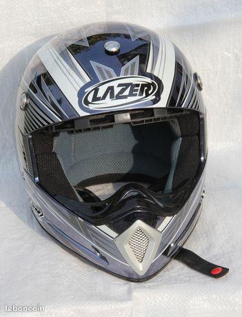 Casque motocross LAZER Mx6 Raptor Taille L