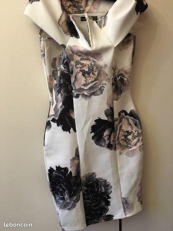 Robe à fleurs hyper chic