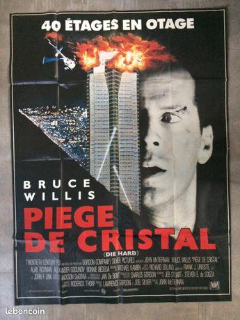 Affiche de cinéma Piège de cristal